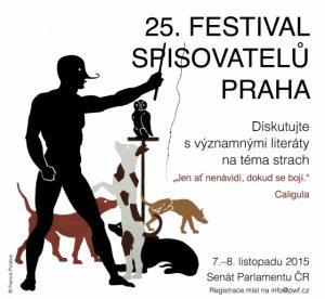 Festival spisovatelů 2015: plakát