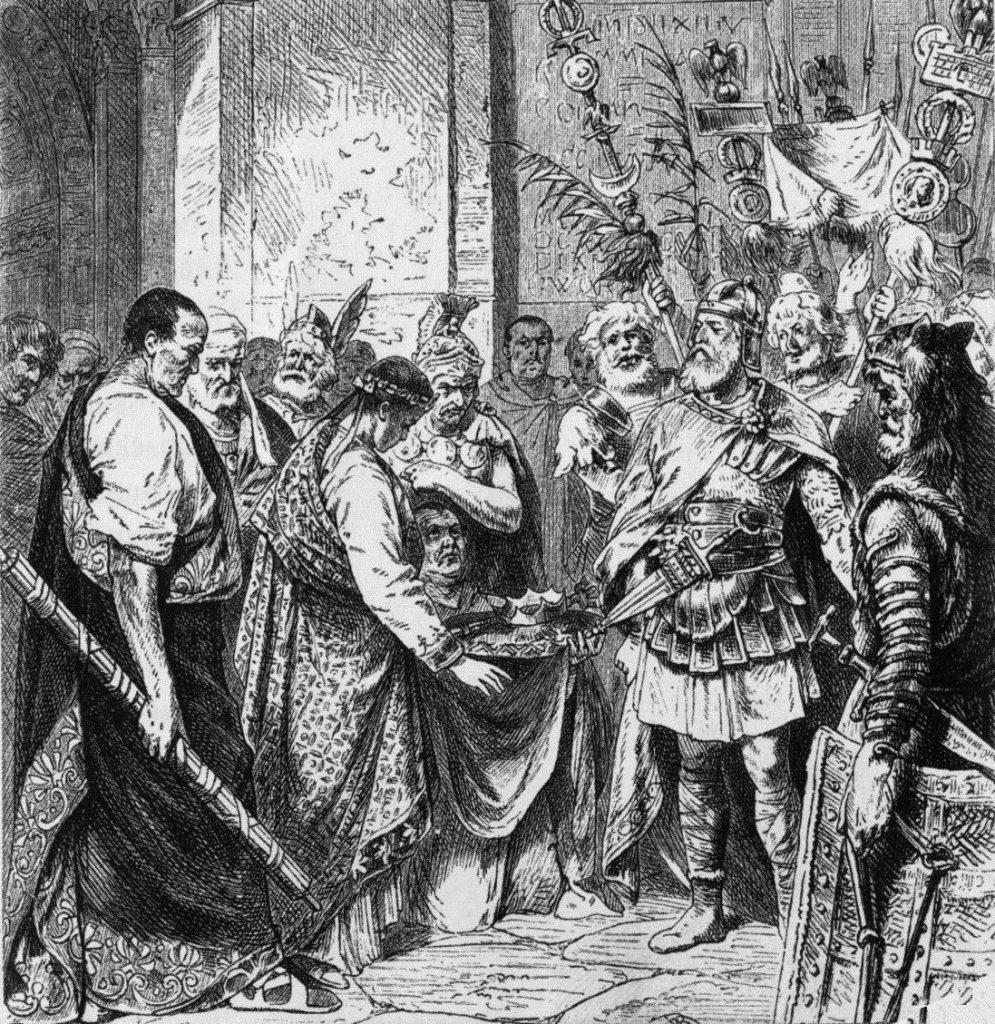 Zásadní obrat směru kolonizace v době stěhování národů, 1. část