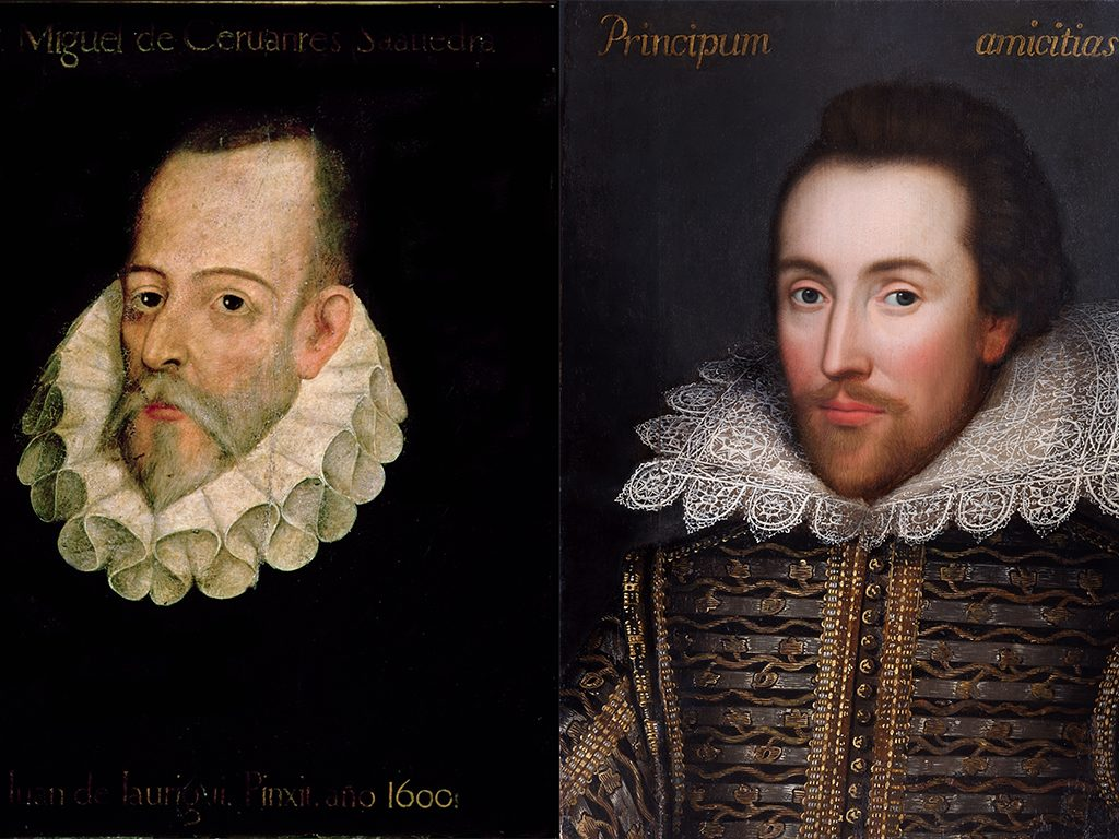 400 let: William Shakespeare a Miguel de Cervantes