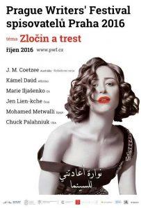 26. Festival spisovatelů Praha: plakát