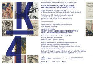 Karlova kolébka: plakát