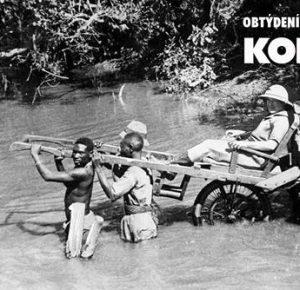 Otroctví v jeho archaické i moderní podobě a koloniální otázka: plakát