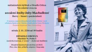 Inka Machulková: Barvy: plakát