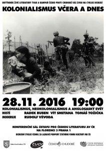 Kolonialismus včera a dnes: plakát