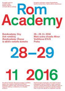 RomAcademy: Dny živé romštiny: plakát