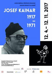 Josef Kainar 1917–1971: plakát