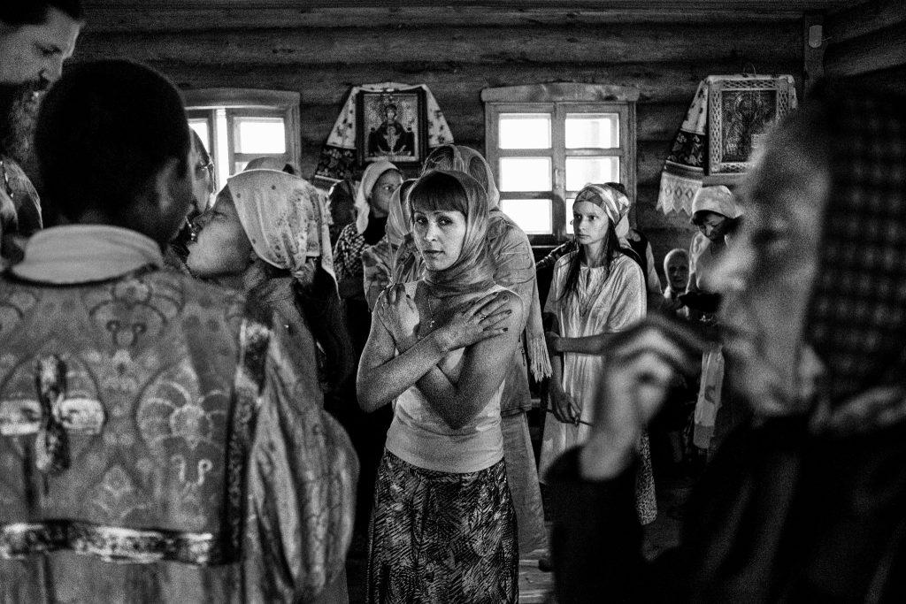 Pravoslavny svatek, krest Rusy 2011,  Foto Martin Wágner / 400ASA
